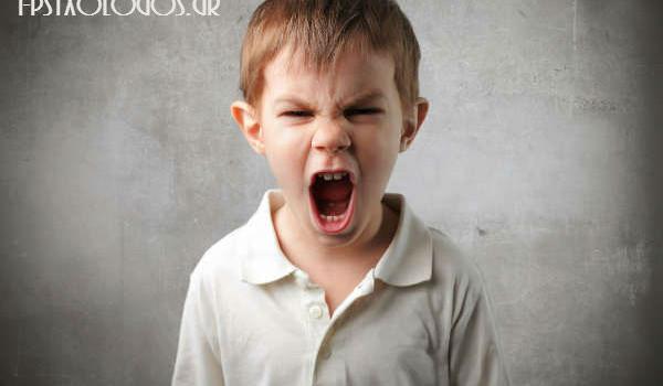 Παιδικός θυμός